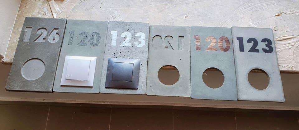 beton numeracja